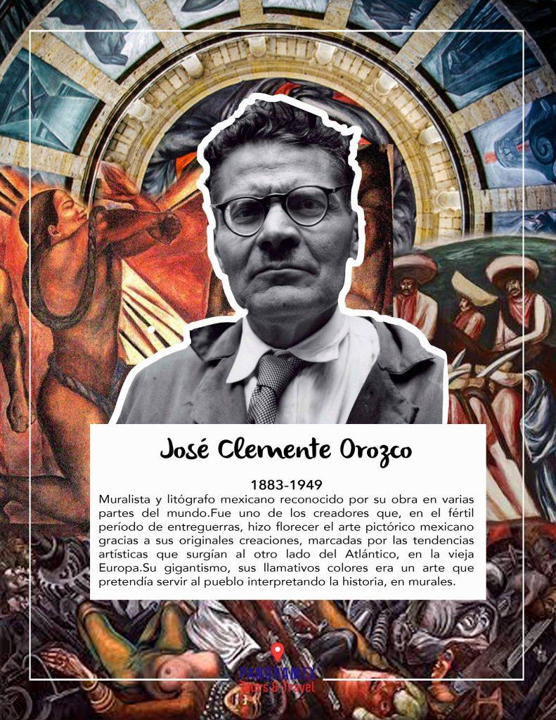 Jaliscienses más conocidos Jose Clemente Orozco