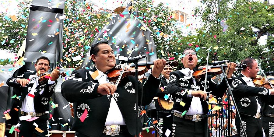 Desfile del Mariachi en Guadalajara 2018