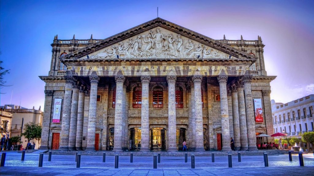 teatro degollado arquitectura